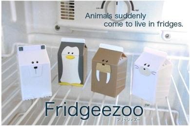 Fridgeezoo - フリッジィズー 地球温暖化防止のため、開けすぎてると文句を言います。
